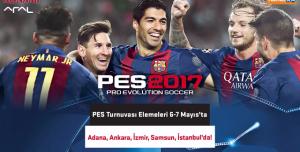 Ödüllü PES 2017 Turnuvası Başlıyor