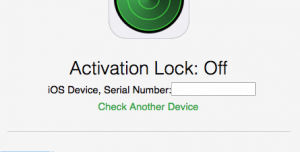 Activation Lock Status Tool