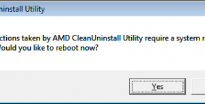 AMD Clean Uninstall Utility
