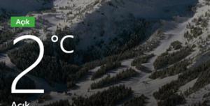 Bing Hava Durumu