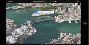 Apple Haritalarına Yeni 3 Boyutlu Kuş Bakışı Konumlar Eklendi