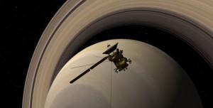 Cassini Son Yolculuğuna Sessizce Uğurlandı!