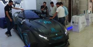 Konya'da Geliştirilen Yerli Malı Alternatif Elektrikli Araç: 'Diriliş 1251'