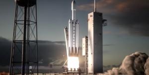 Elon Musk Yeni Gözdesi Falcon Heavy'nin Filmini Paylaştı