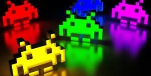 Arduino Devrelere Gerçek Lazer Bağlayıp Space Invaders Oynadılar