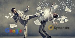Google'dan Güvenlik Yazılım Şirketi Symantec'e Uçan Tekme