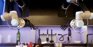 Dünyanın İlk Tamamen Robot Mutfağı Harikalar Yaratıyor