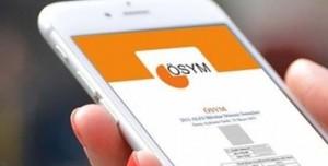 2016 YGS Sonuçları 25 Mart'ta ÖSYM Mobil Uygulamasında