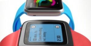 Apple Watch'a Sürpriz Rakip, Pebble Time