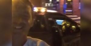 Polis Arabası Çaldı, Takip Edilirken Facebook'tan Canlı Yayın Yaptı
