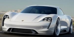 Tesla'yı Bitirecek 600 Beygirlik Elektrikli Araba Porsche Mission E Tanıtıldı
