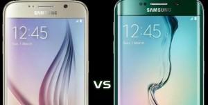 Samsung Galaxy S6 ve Galaxy S6 Edge Karşılaştırması