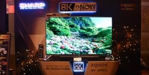 Sharp 8K Çözünürlüğe Sahip TV Sistemini Duyurdu