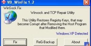 WinSock XP Fix