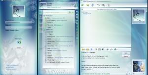 Windows Live Messenger Ixtli Skin v4.5