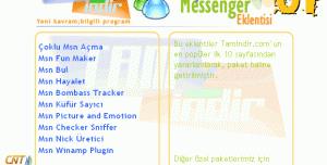 En iyi 10 MSN Eklentisi (Paket - 01)