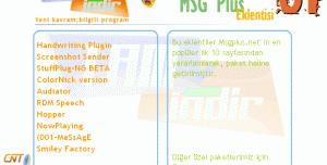 En iyi 10 MSN Plus Eklentisi (Paket - 01)