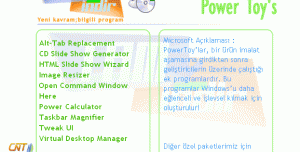 XP Power Toy's Paketi