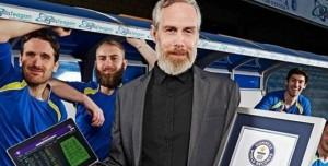 Football Manager Oyuncusu Guinness Rekorlar Kitabı'na Girdi