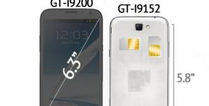 Samsung Galaxy Mega Serisi Geliyor