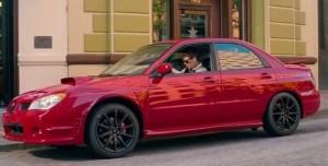 Baby Driver Filmindeki Kırmızı Subaru Açık Artırmayla Satıldı