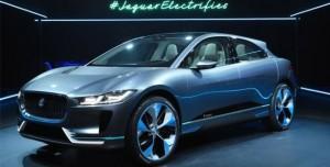 Jaguar'ın Elektrikli SUV Konsepti I-Pace'in Seri Üretimine Başlanacak