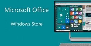 Microsoft Office'in Masaüstü Sürümü Windows Store'a Eklendi