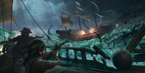 Sea of Thieves'in 25 Dakikalık Xbox One S Oynanış Videosu Yayınlandı