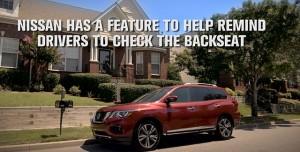 Yeni Nissan Pathfinder ile Arka Koltukta Çocuk Unutmaya Son