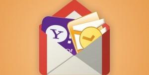 Gmail Artık Outlook, Hotmail ve Yahoo Hesaplarına da Destek Veriyor