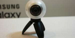 Samsung Sanal Gerçeklik Kamerası Gear 360'ı Tanıttı