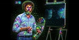 Ressam Bob Ross'un Yapay Zeka Görüntüsü Beyin Yakıyor