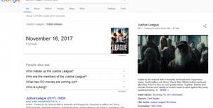 Otomatik Video Oynatma Sistemi, Google Arama Sayfasında Yer Alacak