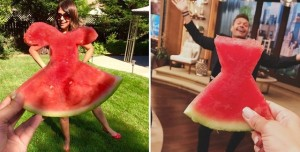 Sosyal Medya'da 'Karpuz Elbise' Çılgınlığı
