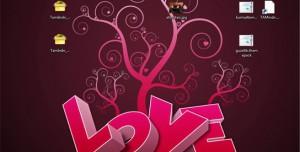 Sevgililer Günü Love Tema