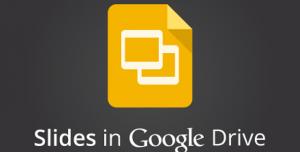 Google Drive ile Sunu Hazırlama