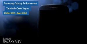 Samsung Galaxy S4 Lansmanı Tamindir Canlı Yayını