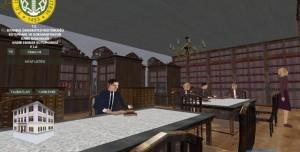 Nadir Eserler Kütüphanesi Simülasyonu