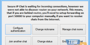 Secure IP Chat