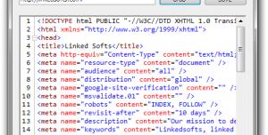 Webpage Source Grabber