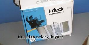 Monitör Audio I-deck iPod Ses Sistemi Kutu İçeriği