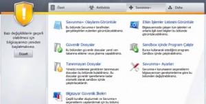 Comodo AntiVirus Kurulumu ve Program İçi Görüntüleri