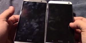 HTC One M8 Videoda Göründü