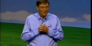 Bill Gates Windows XP'yi Böyle Tanıtmıştı