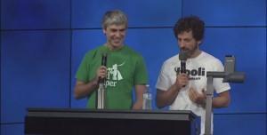 Google Yöneticileri de ALS Hastalığına Karşı Buzlu Su Döktüler