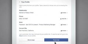 Facebook Gizlilik Kontrolü Devrede