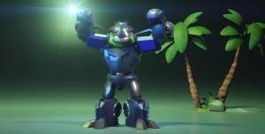 Angry Birds Transformers: Lockdown Karakteri Tanıtım Videosu