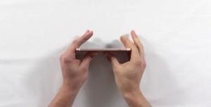 iPhone 6s Plus Bükülme Testi