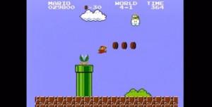 Yuh Artık Dedirten Super Mario Oynama Performansı