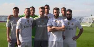 Real Madrid Oyuncularının FIFA 16 Keyfi